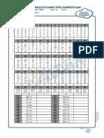 Model Paper Set 1 MA Level 3 1