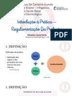Aula 01 - Introdução a Prática - Regulamentação Da Profissão de TSB
