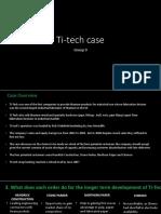 Ti Tech Case