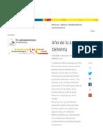 Año de La Juventud DEMPAJ – Noticias