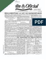 1954010501N - Decreto 25001-53 - Reglamentación ley 14241