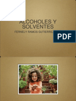 Alcoholes y Solventes