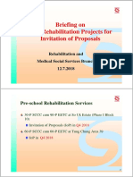 Briefing on New Rehab Projects 12072018