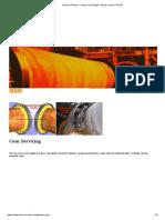 Gears & Pinions – Rotary Kiln Design, Repair, Install – PKSE