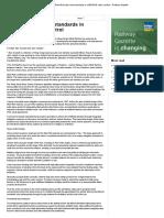 West Rail Sets New Standards in LINESIDE Noise Control - Railway Gazette