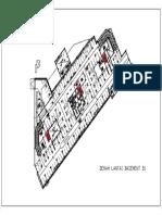 A-2100_denah Partial Lantai b1-Model