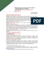 Article Scientifique Normes Passages_de_paris-normes