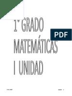 cuadernillo de matemática 1° grado