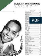 Charlie Parker Omnibook Songbook in PDF Format