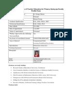 Dr. Pushpa Marian
