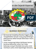 Pengertian Dan Sejarah Koperasi