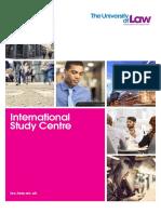 University of Law ISC Prospectus 2015 LR