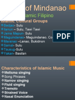 The musical instruments ofmindanao