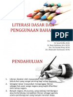 Literasi Dasar Dan Penggunaan Bahasa
