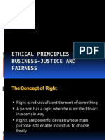 Ethical Principles in Business–Justice and Fairness (2)