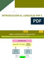 Mapa Conceptual - PHP