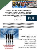 Afiche Defensa Publica