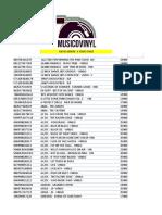 Listado Actualizado 07-11-2018 Vinilos Nuevos