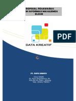 Proposal Sistem Informasi manajemen Klinik