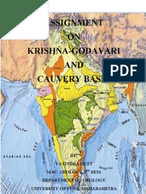 Krishna-Godavari and Cauvari Basin | Sedimentary Basin