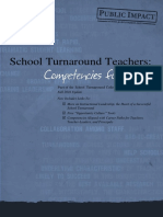 Turnaround Teacher Competencies