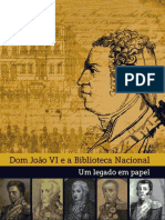 D Joao VI e a Biblioteca Nacional
