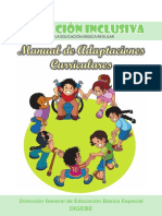 Manual de Adaptaciones Curriculares