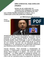 O Regime Saudita Sobrevive, Mas Entra Em Tempos Perturbados