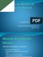 Diseño de Mezclas de Concreto Normal y Ligero