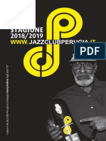 Jazz Club Perugia programma 2018 2019