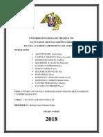 Control de Plagas y Enfermedades de La Caña-cosecha-procesamiento y Comercializacion
