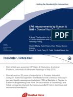 Debra Hall Guided Wave ISA Singapore LPG Measurements GWI