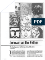 Jehovah as the Father