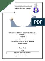 INFORME DE FÍSICA N°4