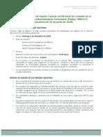 Nota Informativa 07-11-18 Pruebas Selectivas