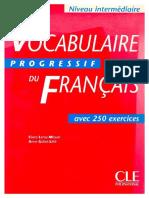 3vocabulaire Du Francais Intermediaire 2