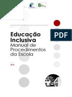 Manual de Procedimentos de Educação Inconclusivo Em Elaboração