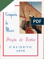 Pregón Moro de Fiestas 1975