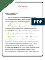 Dna Computing Proposal