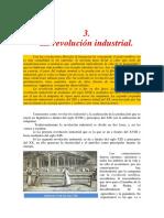 3. La Revolución Industrial.