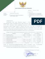 Surat Ka BKN Ttg Perpanjangan Jadwal Pendaftaran CPNS Tahun 2018