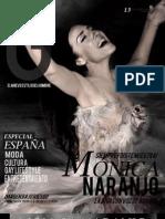 Mónica Naranjo - Revista G México - Octubre 2010