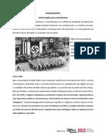 2. HOLOCAUSTO - 1933 -1938