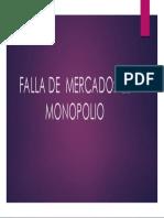 Falla de Mercado