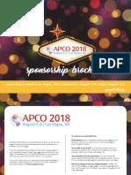 sponsorship brochure