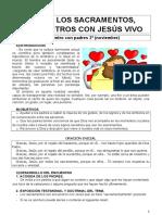 2. Los Sacramentos, Encuentros Con Jesús Vivo Word