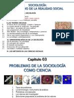 03- Problemas de La Sociología Como Ciencia