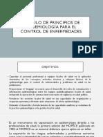 Modulo de Principios de Epidemiología Para El Control