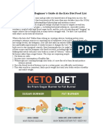 Ketogenic Diet -Vartika's Note