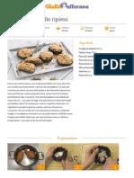 GZRic Funghi Portobello Ripieni